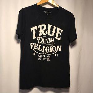 True Religion old fashioned crew neck tee